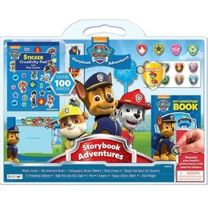 Paw Patrol 100 Piece + Pup Collection Activity Set